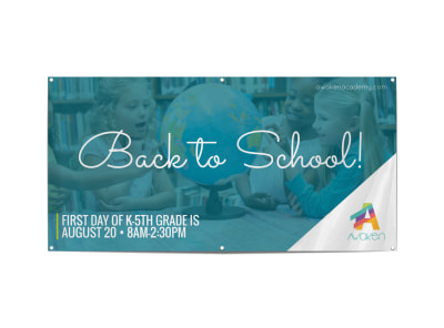 Back To School Banner Template preview