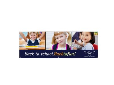 School Banners Template Preview