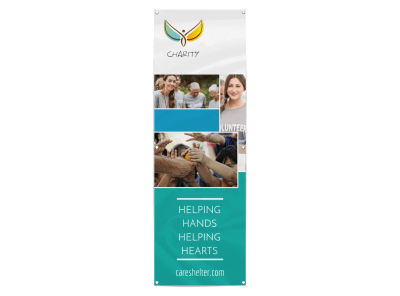 Fundraising Banners Template Preview