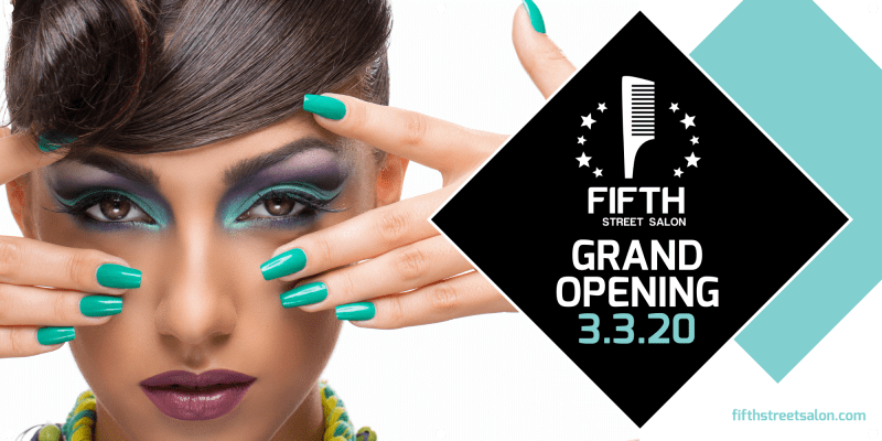 Salon Grand Opening Banner Template Preview 2