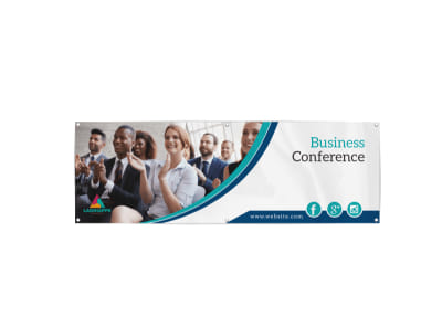 Corporate Business Conference Banner Template
