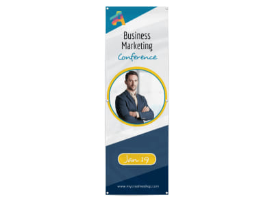 Beautiful Business Conference Banner Template preview