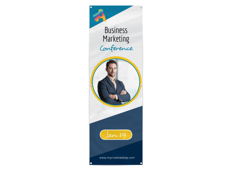 Beautiful Business Conference Banner Template Preview 1