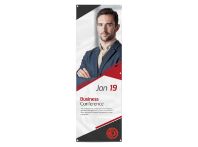 Classic Business Conference Banner Template preview