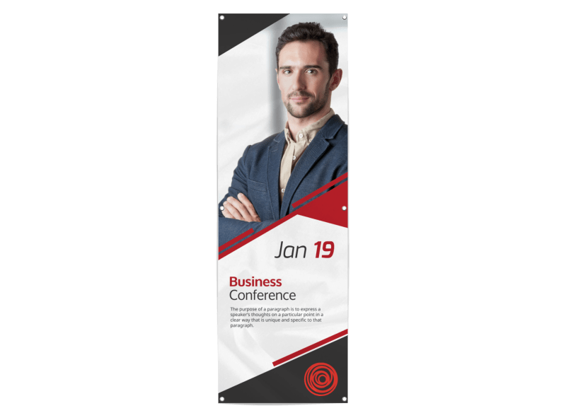 Classic Business Conference Banner Template Preview 1