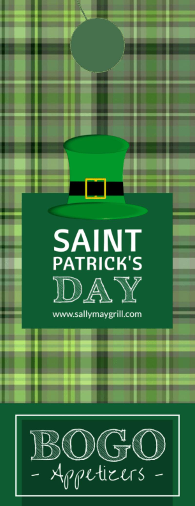BOGO Saint Patrick's Day Door Hanger Template Preview 2