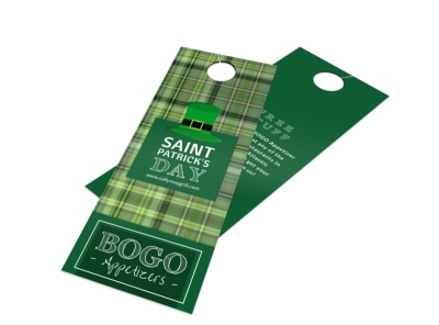 BOGO Saint Patrick's Day Door Hanger Template preview