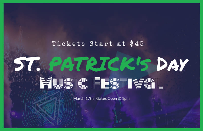Saint Patrick's Day Festival Postcard Template Preview 2