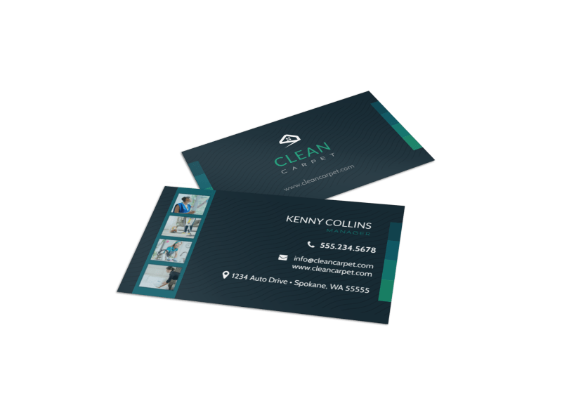 House Cleaning Services Business Card Template Preview 1