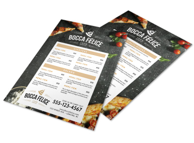 Restaurant Italian Menu Template preview