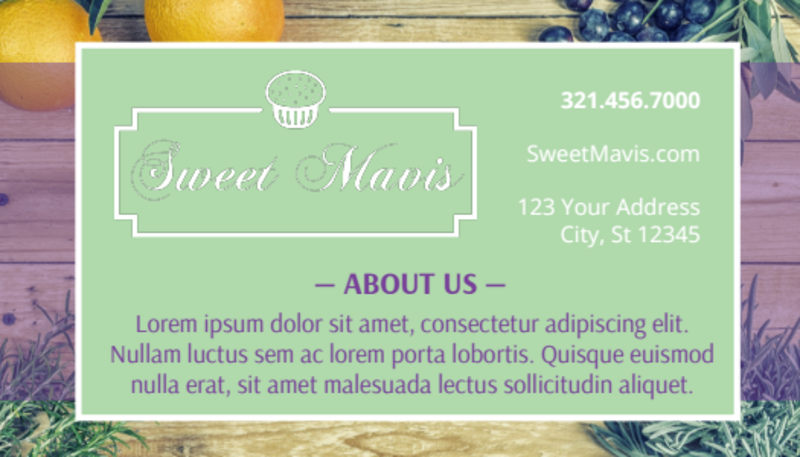 Pastry Shop Loyalty Punch Card Template Preview 3