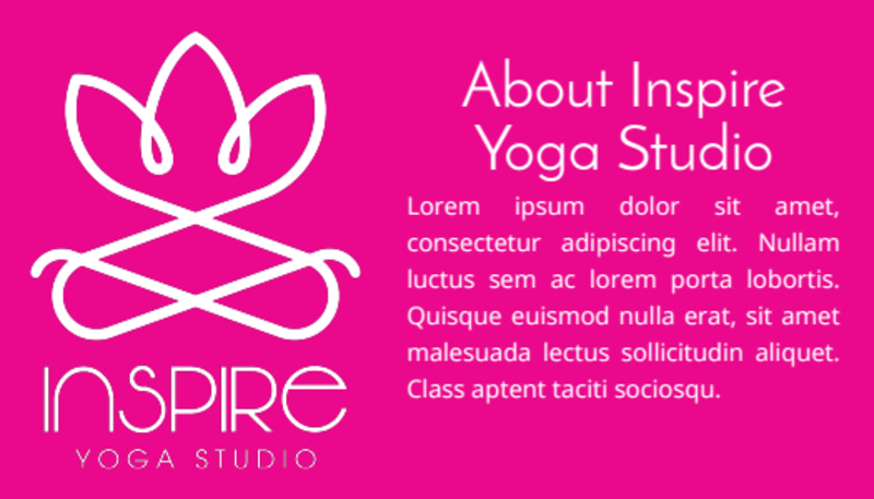 Yoga Class Punch Card Template Preview 3