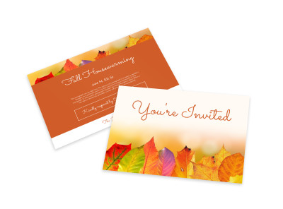 Housewarming Invitation Card Template preview