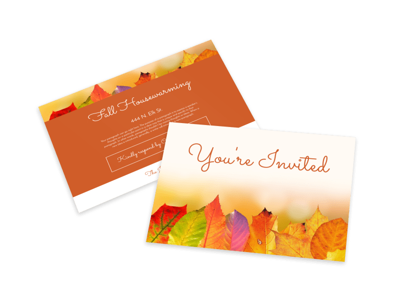 Housewarming Invitation Card Template