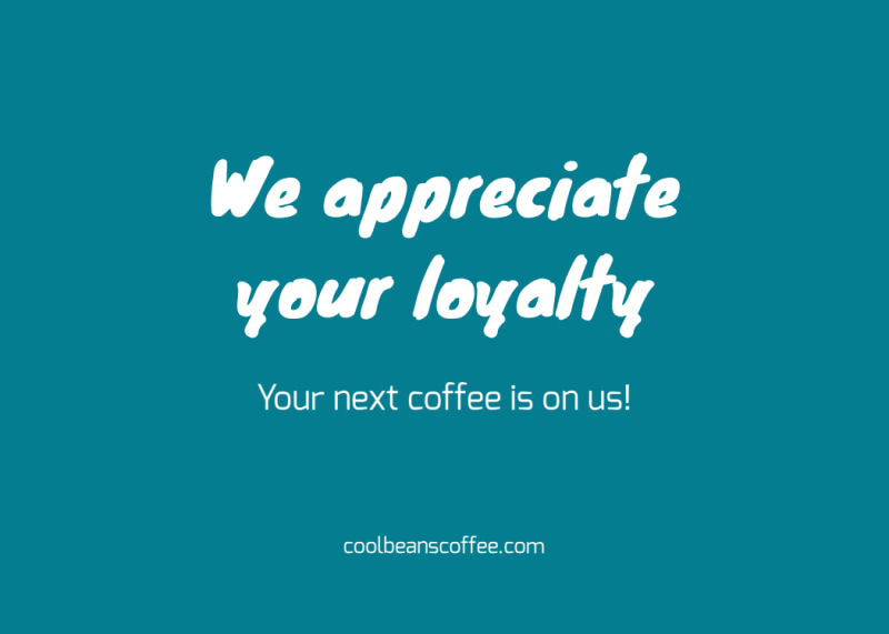 Thanks A Latte Card Template Preview 3