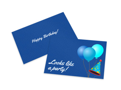 Simple Birthday Card Template preview