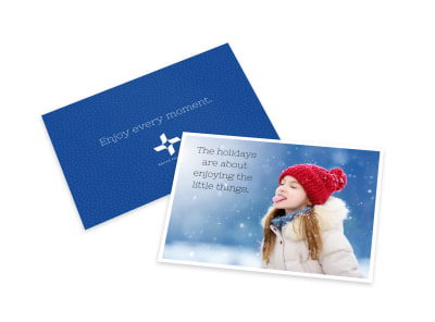 Christmas Holiday Card Template preview