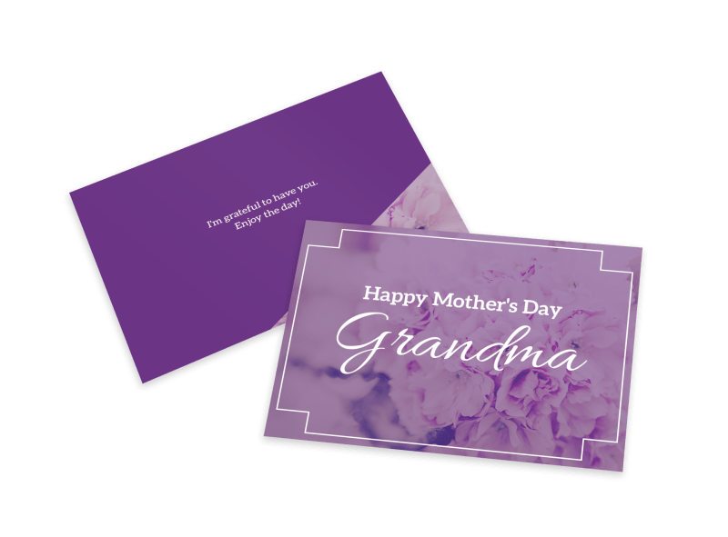 Mother's Day Grandma Card Template Preview 1