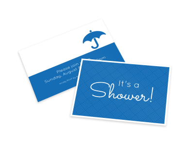 Baby Shower Card Template preview