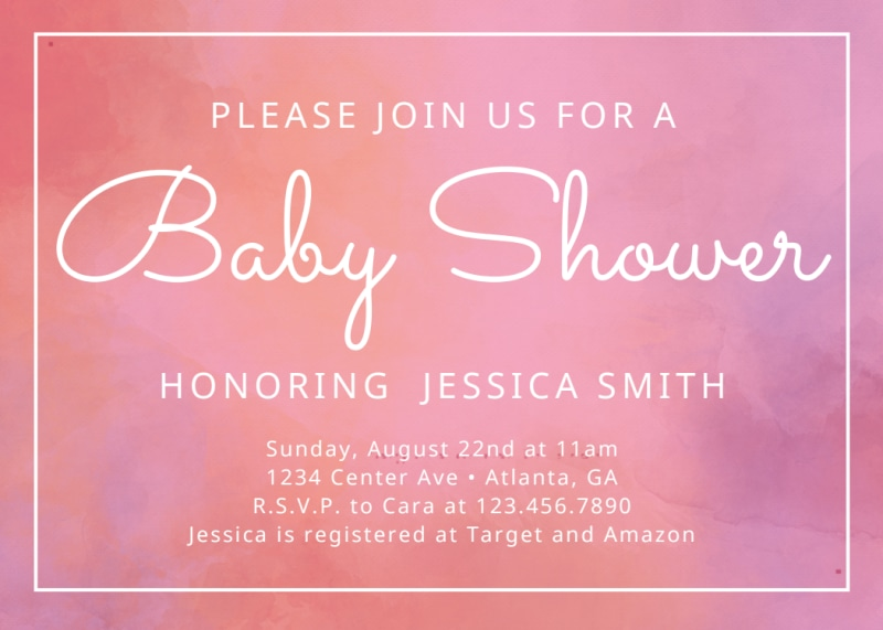Baby Shower Join Us Card Template Preview 2