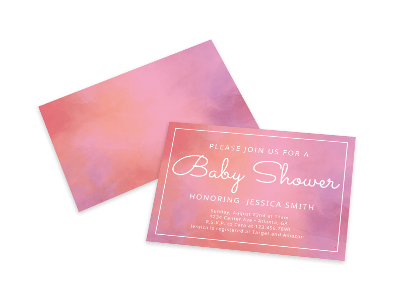 Baby Shower Join Us Card Template Preview 1