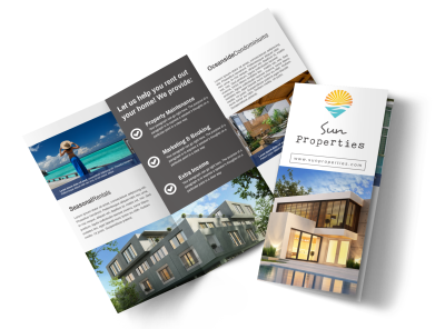 Property Management Brochures Template Preview