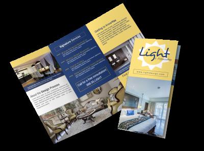 Interior Design Brochure Templates Template Preview