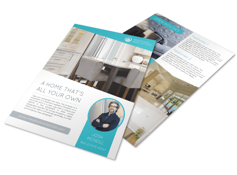 Your Own Open House Flyer Template Preview 1