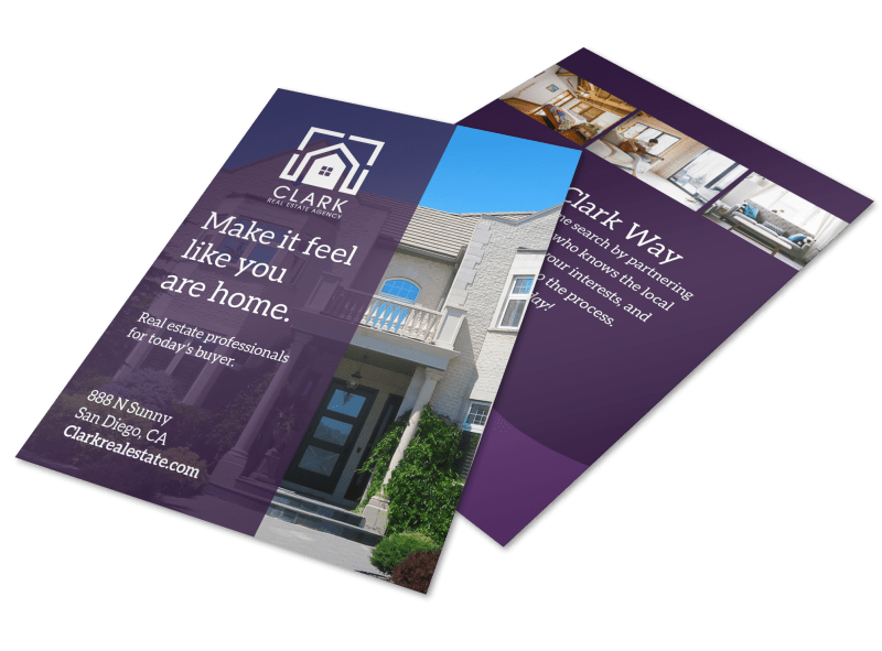Like Home Open House Flyer Template Preview 1