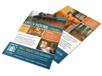 Awesome Open House Flyer Template  preview