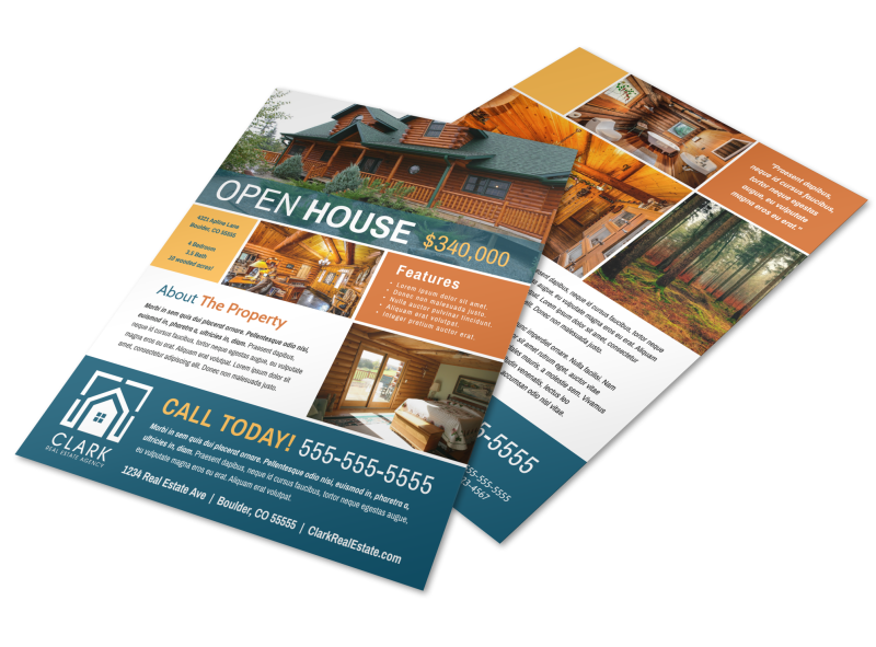 Awesome Open House Flyer Template Preview 1
