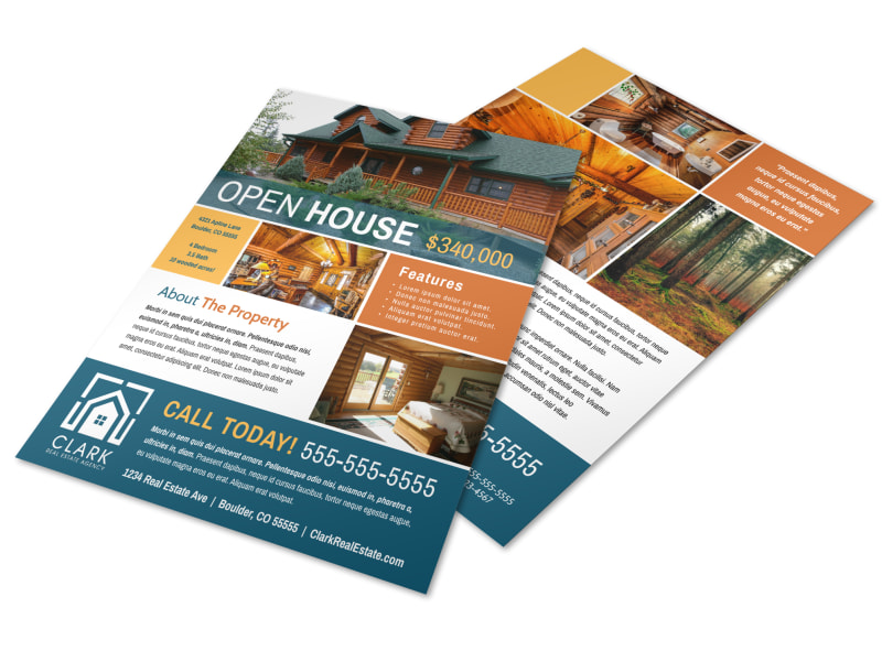 Awesome Open House Flyer Template Preview 4
