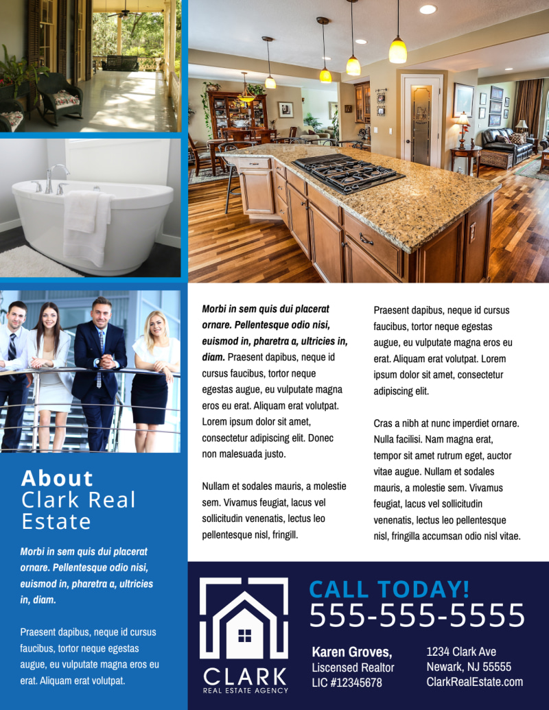Modern Open House Flyer Template Preview 3