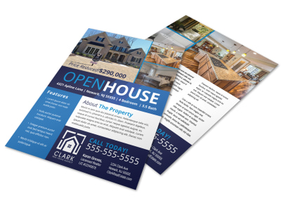 Modern Open House Flyer Template preview