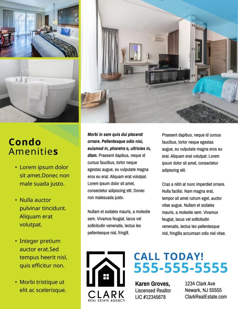 Open House Condo Flyer Template Preview 3