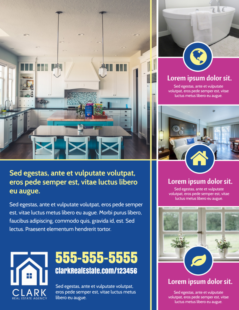 Fun Open House Flyer Template Preview 3