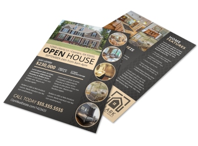 Neat Open House Flyer Template preview