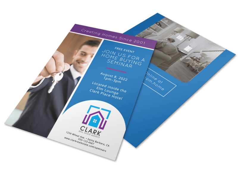Home Buying Seminar Flyer Template Preview 1