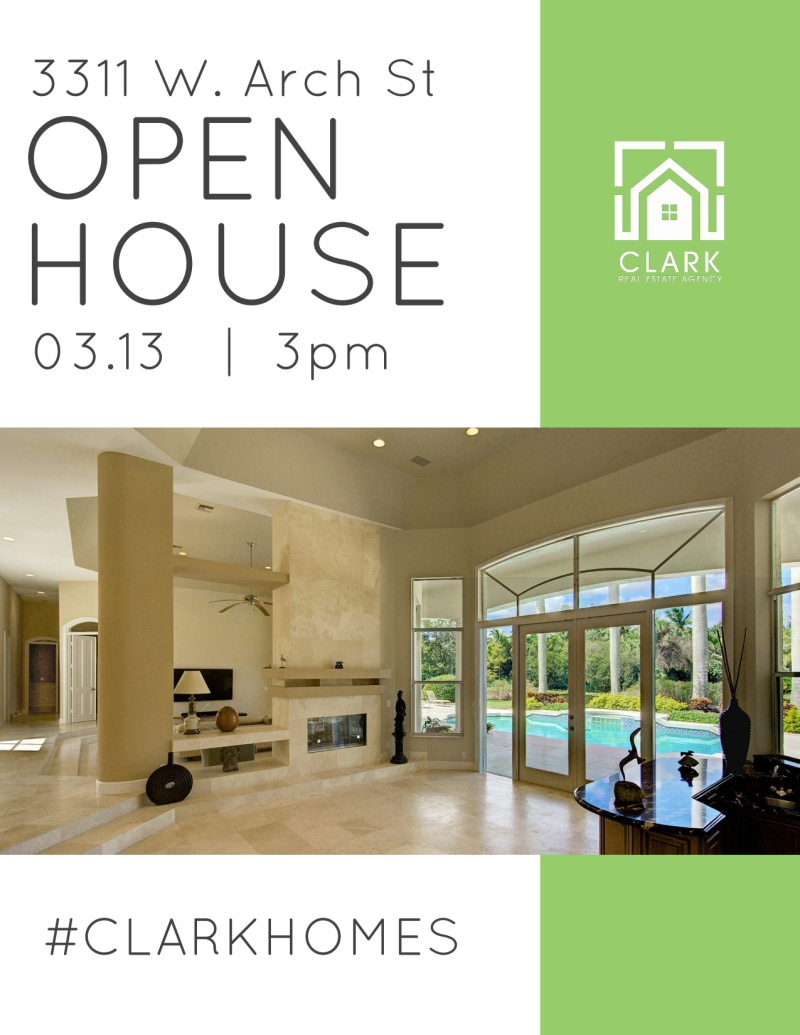 Welcome Open House Flyer Template Preview 3