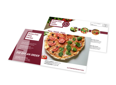 Special Pizza Restaurant EDDM Postcard Template preview