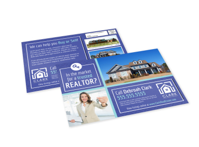 Trusted Realtor EDDM Postcard Template preview