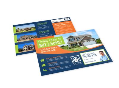 Buy A Home EDDM Postcard Template preview