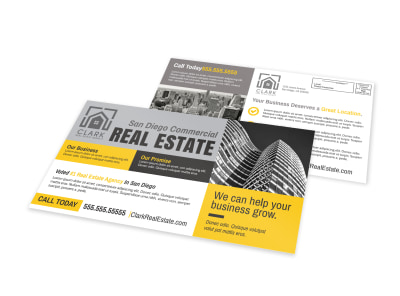 Commercial Real Estate EDDM Postcard Template preview