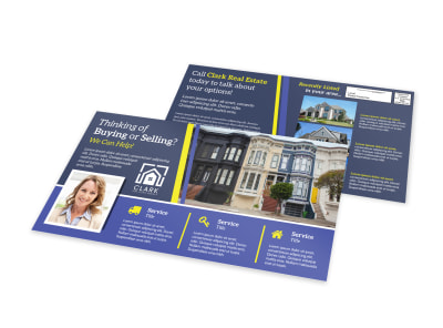 Buying Selling EDDM Postcard Template  preview