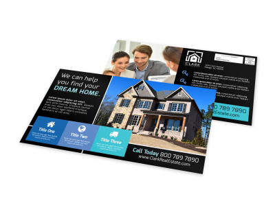 Dream Home EDDM Postcard Template preview