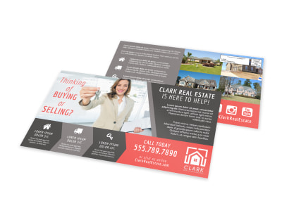 Thinking Of Buying EDDM Postcard Template preview