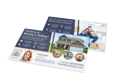 Find A Home EDDM Postcard Template preview