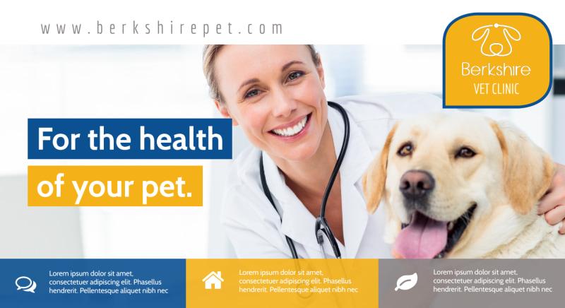 Healthy Pet EDDM Postcard Template Preview 2