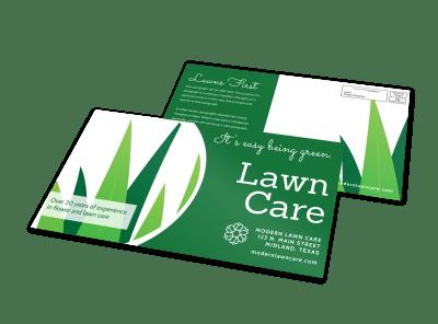 Lawn & Garden EDDM Postcards Template Preview