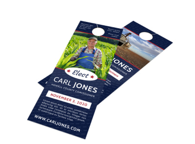 Campaign Door Hanger Template edju67f8wg preview